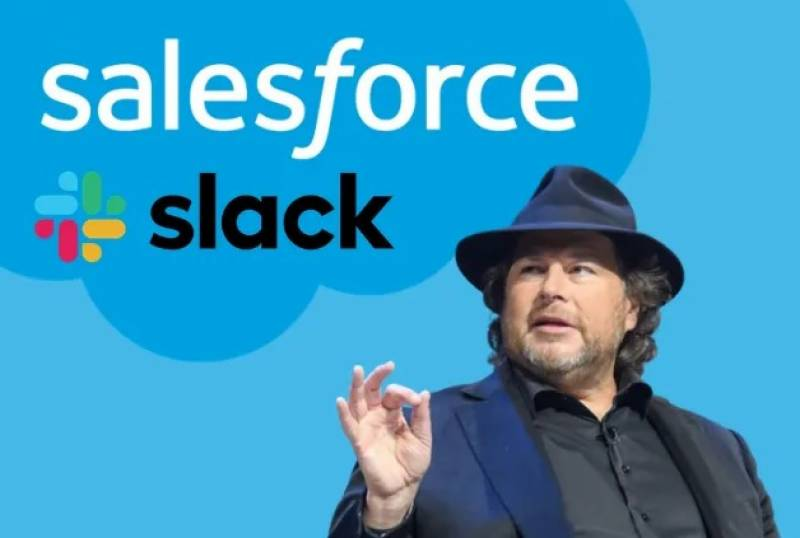 Salesforce to buy Slack in $27.7b software megadeal