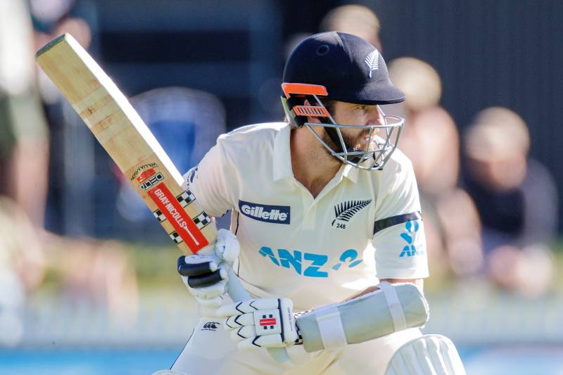 Williamson's bat puts New Zealand in charge on bowlers' strip