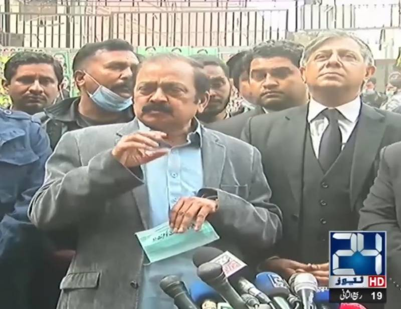 Rana Sana says there is no proof against him in drugs case