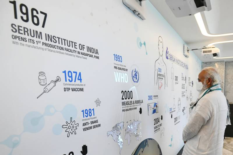 India's Serum Institute applies for Covid-19 vaccine approval