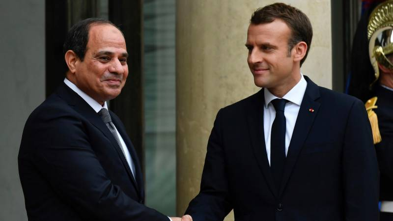 Macron rejects calls to get tough with Egypt's Sisi on rights