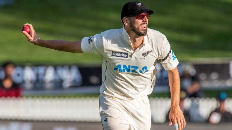 New Zealand all-rounder Mitchell fined for swearing