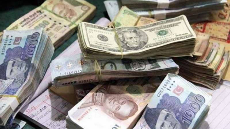 US dollar up by 19paisas against Pak rupee; pound, euro lose ground