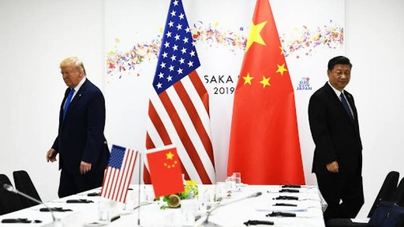US slaps sanctions on 14 Chinese officials over Hong Kong