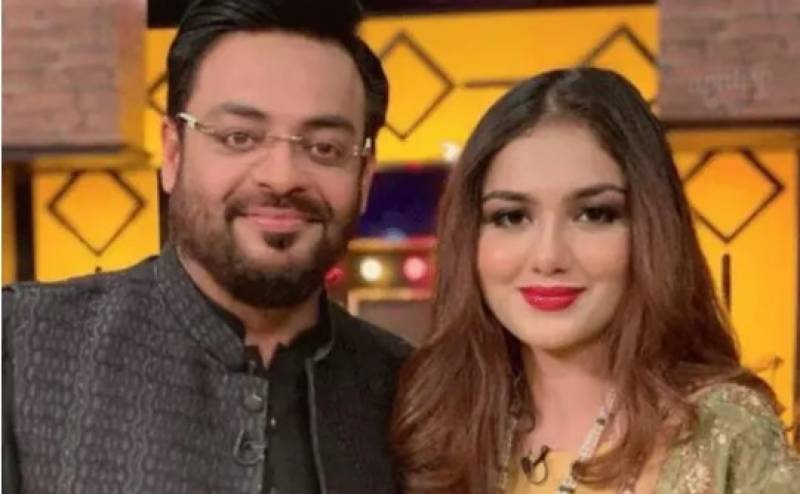 Dr Aamir Liaquat's wife makes her debut in TV drama
