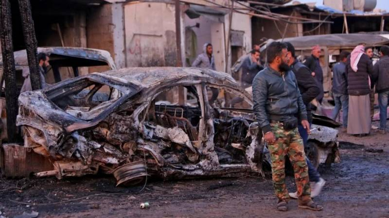 Car bomb kills 16 including 3 Turkish personnel in NE Syria: monitor