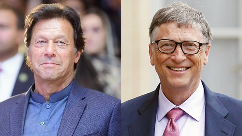 PM Khan, Bill Gates discuss Covid-19, polio vaccination campaign
