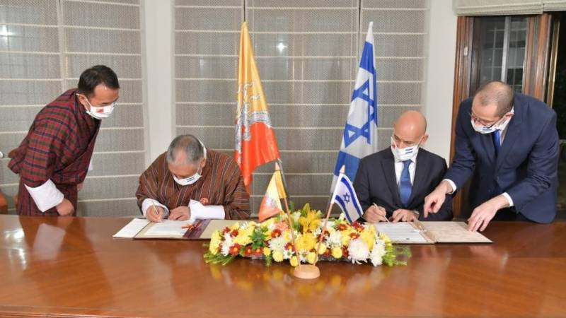 Israel establishes diplomatic relations with Bhutan: foreign ministry