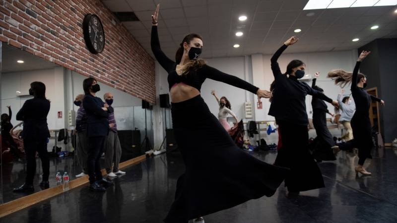 Flamenco artist's show 'a balm' for pandemic-weary souls