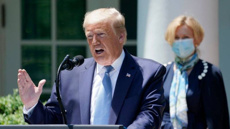 Trump says first US vaccine will be administered Saturday