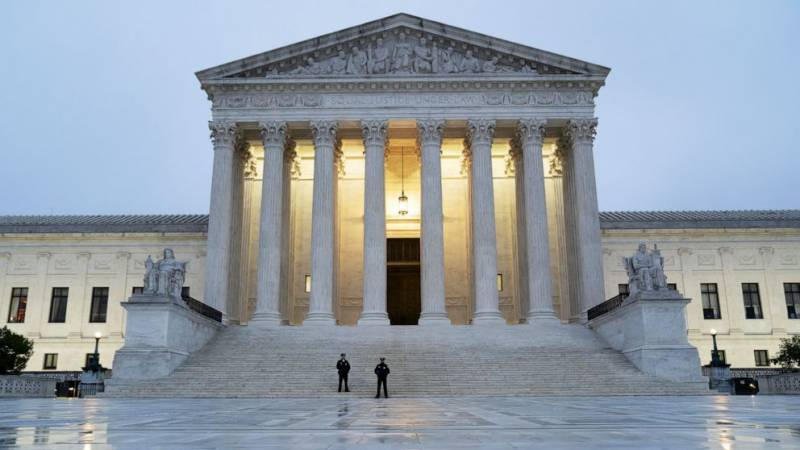 US Supreme Court dismisses Texas suit challenging election result