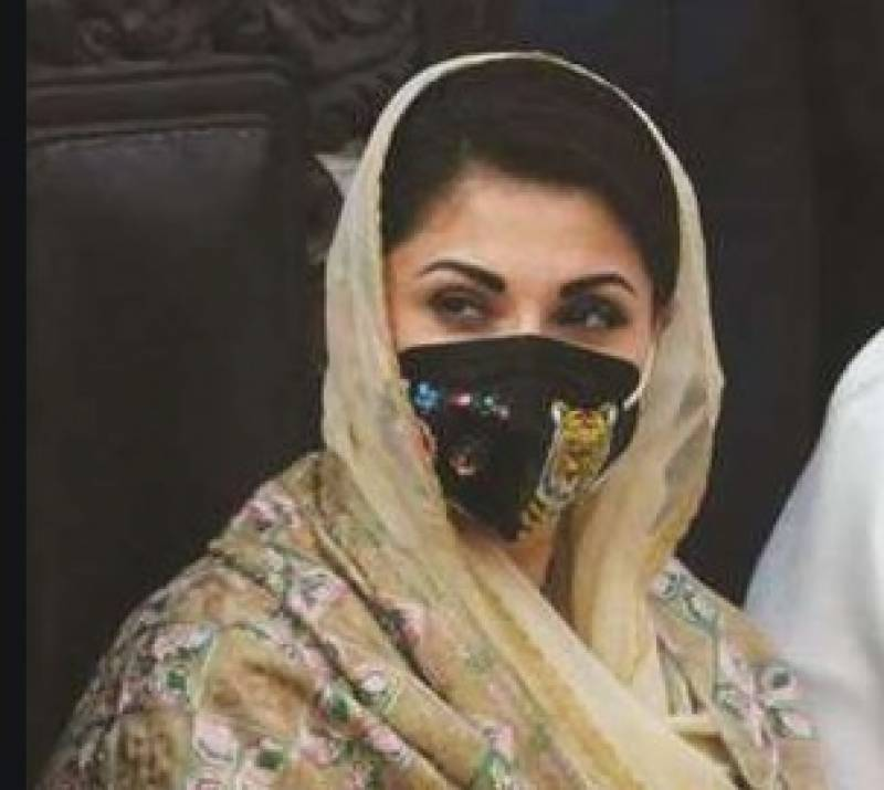 Maryam Nawaz asks PDM activists to wear masks