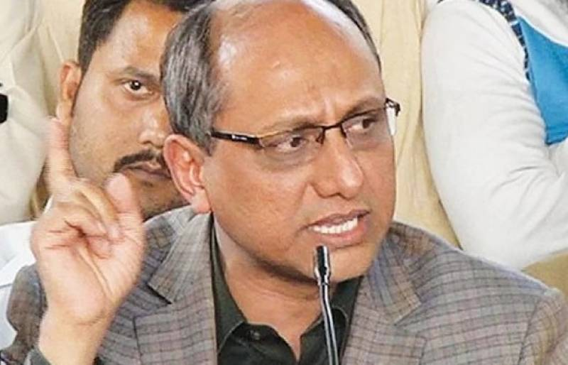 PTI govt about to collapse, says Saeed Ghani
