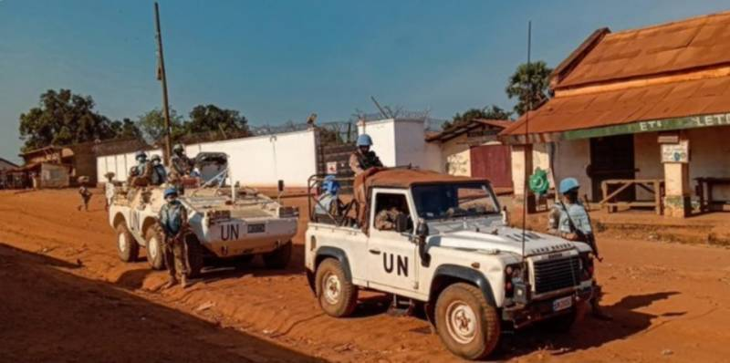 UN highlights Pakistan peacekeepers role in CAR
