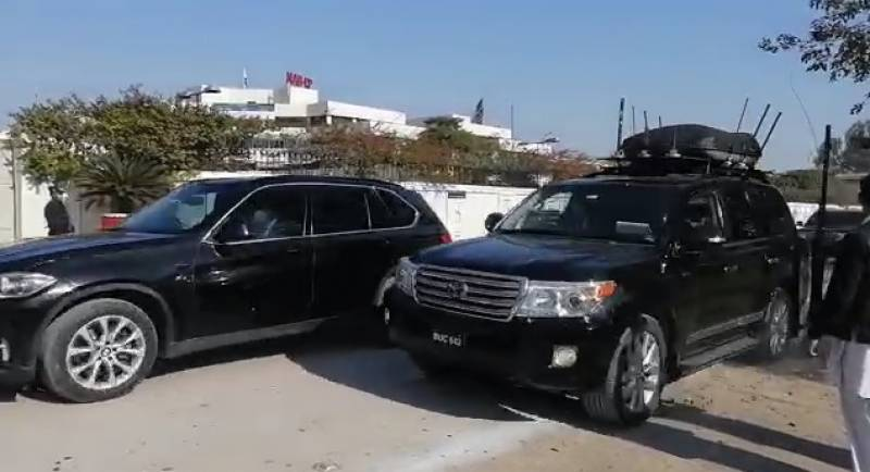 27-vehicle protocol as PM Imran Khan visits Peshawar