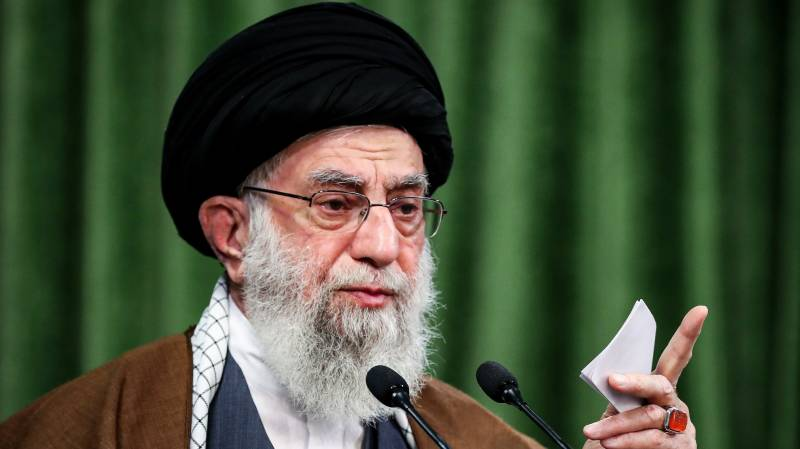Khamenei says US 'enmities' towards Iran will not end with Trump