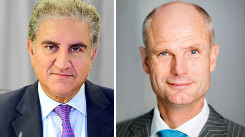 Qureshi discusses bilateral relations with Dutch FM over phone