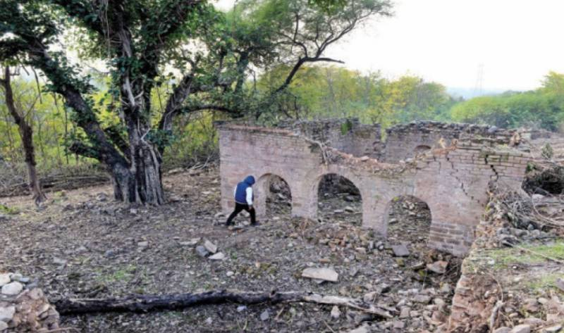 Shakarparian century-old mosque declared national heritage