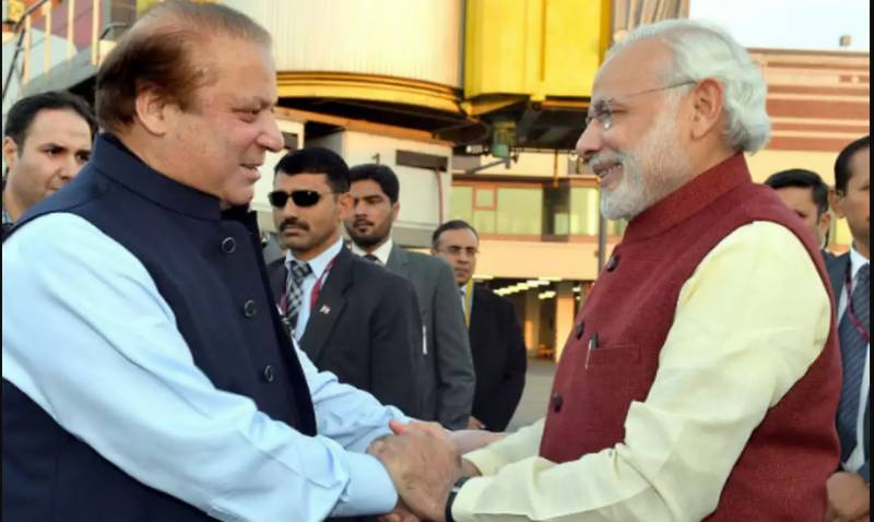 Indian PM Modi writes to Nawaz Sharif to condole death of his mother