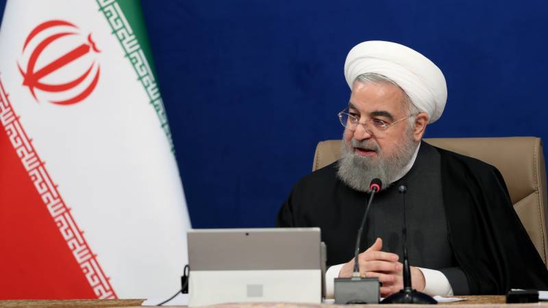 Iran's Rouhani expects US to resume commitments under nuclear deal