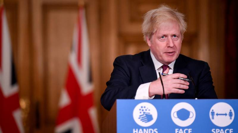 British PM orders new curbs to slow more infectious virus strain