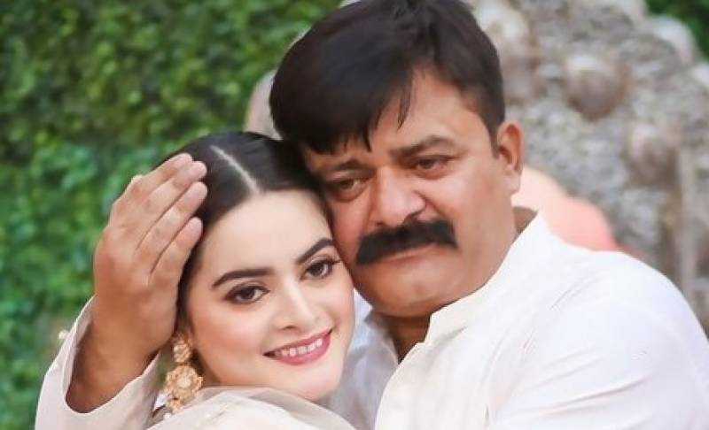 Minal Khan asks fans to pray for her father's health