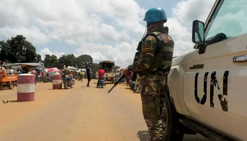 Peacekeepers deploy in C. Africa as UN chief calls for calm