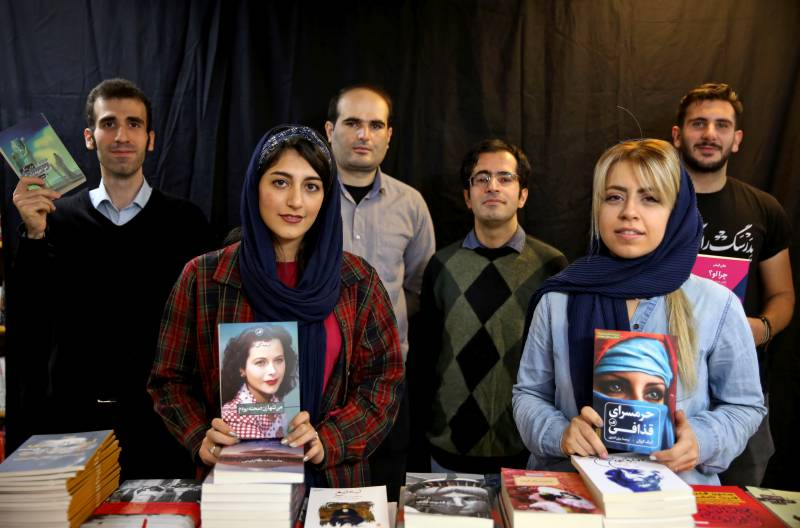 Foreign authors top sellers with literature-loving Tehran women