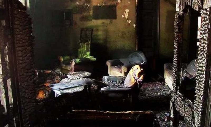 Two children die as house catches fire in Pindi