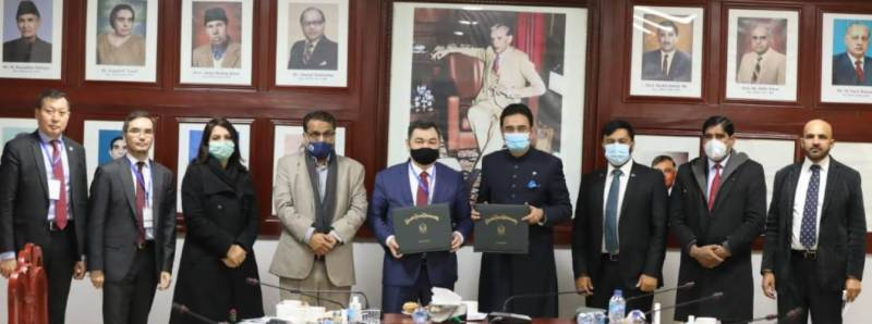 QAU, International Turkic Academy join hands to promote education