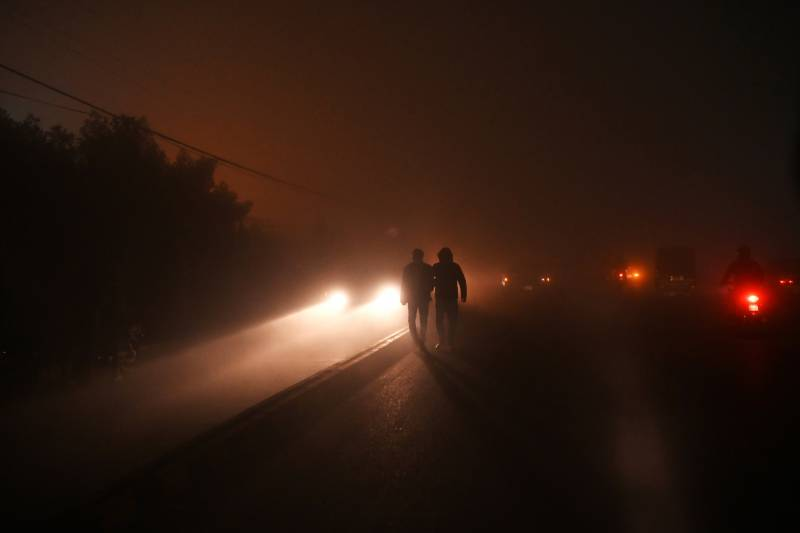 Fog disrupts normal life in Punjab cities