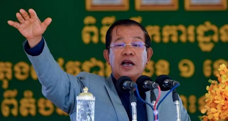 Cambodia hails extraction of country's 'first drop of oil'