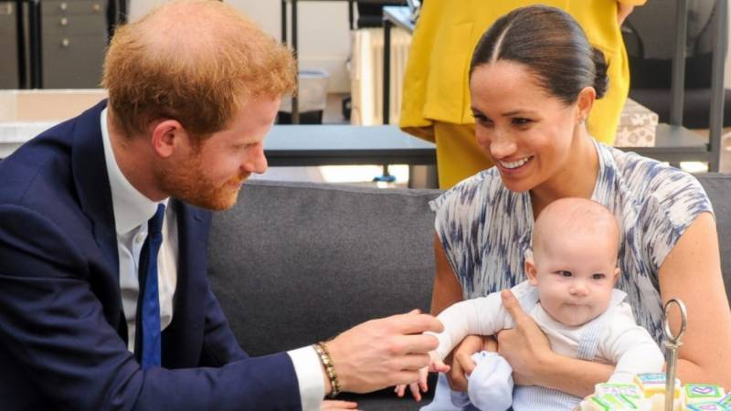 Harry and Meghan's son reveals 'American accent' on podcast