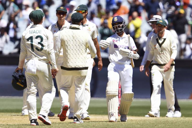 Resilient India thump Australia in second Test to silence critics