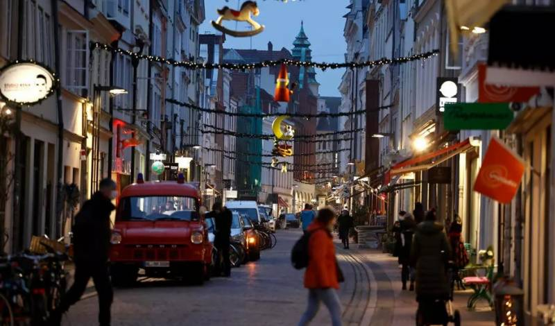 Virus hollows out German city centres