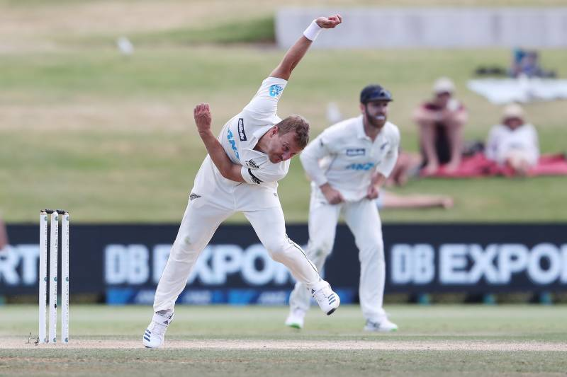New Zealand's Wagner to miss second Pakistan Test