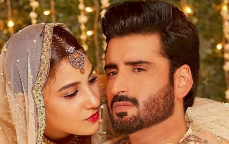 Agha Ali throws 'pink surprise' at wife Hina on her birthday