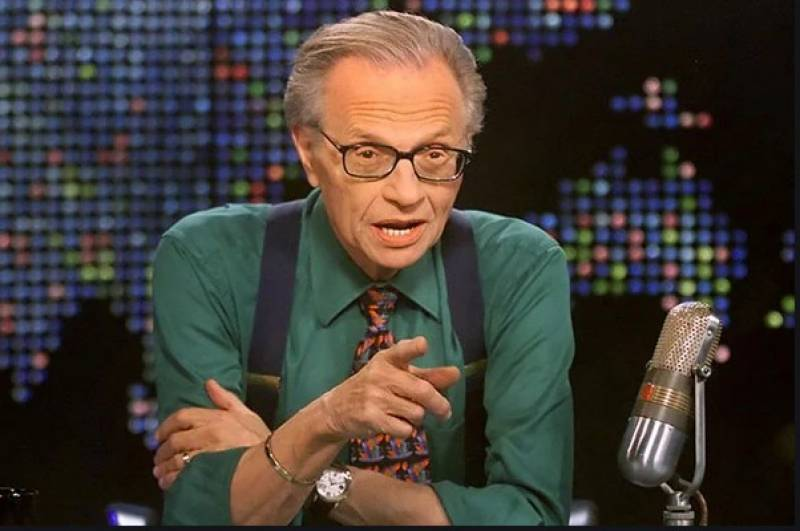 US news star Larry King hospitalized with Covid-19