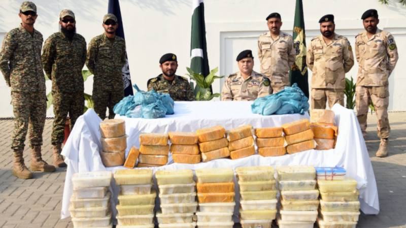 Navy, ANF seize drugs in joint operation in Karachi
