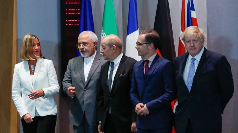 Iran nuclear move carries 'significant' risks: Europeans