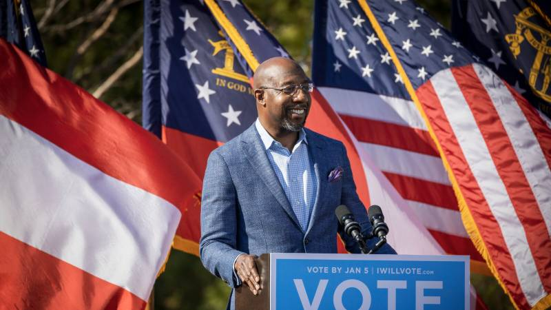 Democrats win second Georgia race, ensuring US Senate control: networks