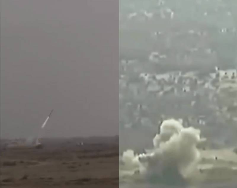 Fatah-1 Guided Multi Launch Rocket System test-fired
