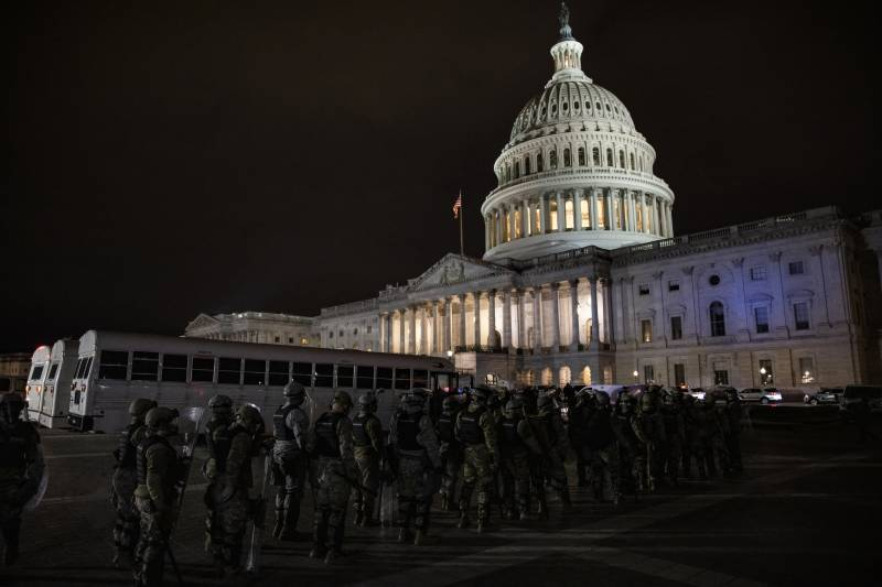 Four dead after Trump supporters storm Congress
