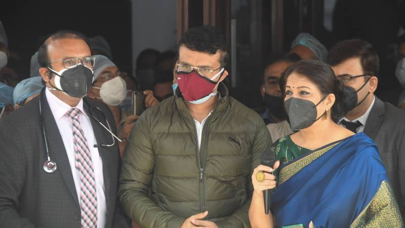 Ganguly leaves hospital as oil brand's 'heart healthy' ads pulled