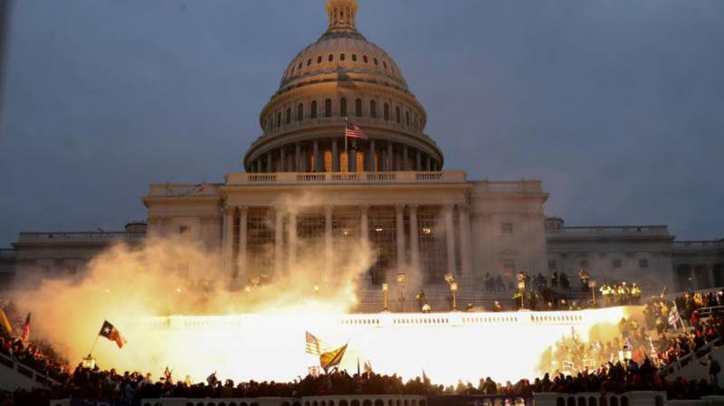 Washington chaos leaves image of 'exceptional' America in tatters