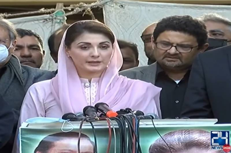 Maryam laments PM's remarks calling Hazara mourners 'blackmailers'