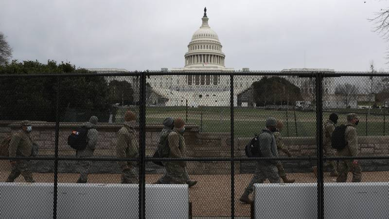 Washington's Capitol building fenced in after riots