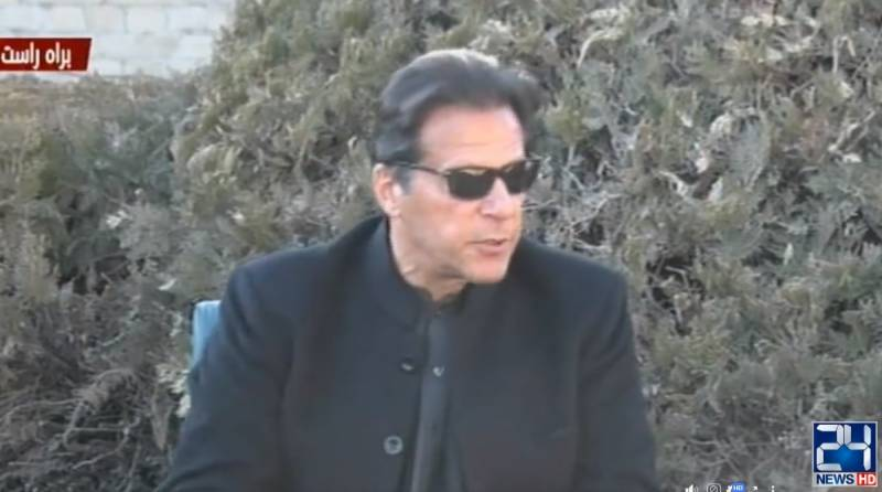 India using Daesh for terror acts in Balochistan, says PM Imran