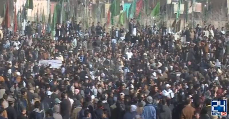 Thousands attend as Hazara coalminers buried amid sobs & tears