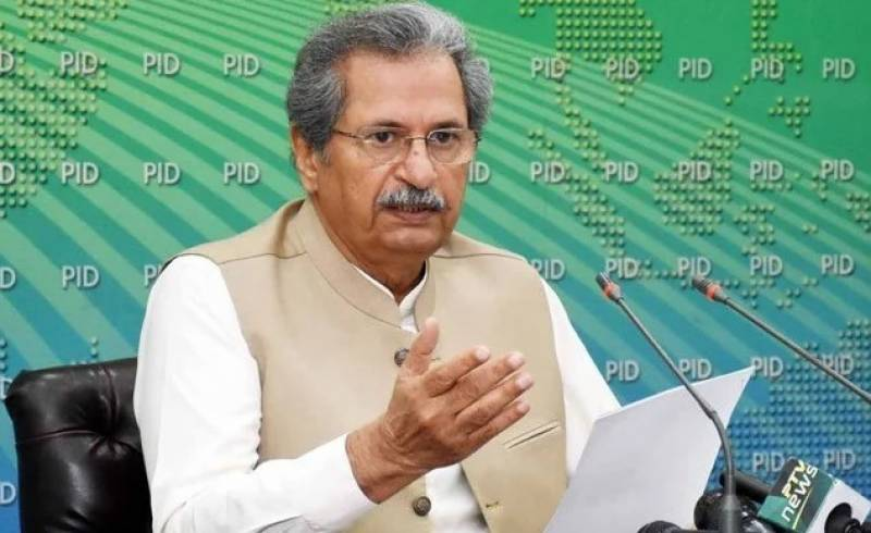 Govt switching to distance learning mode: Shafqat